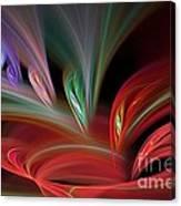 Fractal Vortex Swirl Canvas Print
