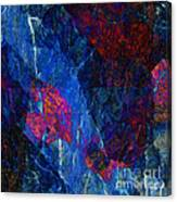 Fracture Section Xv Canvas Print