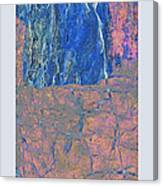 Fracture Section Xxlll Canvas Print
