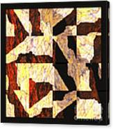 Fractured Overlay Il Canvas Print