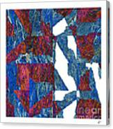 Fractured Overlay Iv Canvas Print