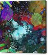 Fractured Web Canvas Print