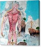 Fragiles Colossus Canvas Print