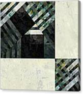 Fragmented Abstract Art Canvas Print