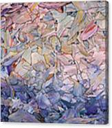 Fragmented Sea - Square Canvas Print