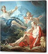 Fragonard's Diana And Endymion Canvas Print