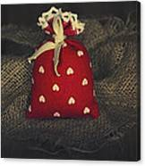 Fragrance Pouch Canvas Print