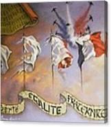 France Belle Et Rebelle Un Canvas Print