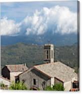 France, Corsica, La Alta Rocca, Quenza Canvas Print