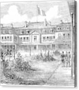France Hotel Brighton Canvas Print