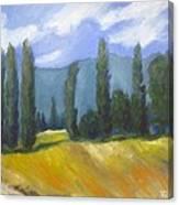 France Landscape Canvas Print
