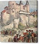 Francis I Held Prisoner In A Tower Canvas Print