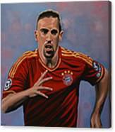 Franck Ribery Canvas Print