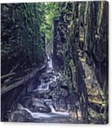 Franconia Notch Canvas Print
