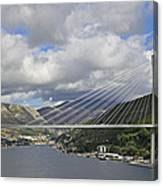 Franjo Tudman Bridge Canvas Print