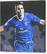 Frank Lampard - Chelsea Fc Canvas Print
