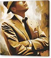 Frank Sinatra Artwork 1 Canvas Print