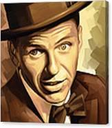 Frank Sinatra Artwork 2 Canvas Print