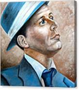 Frank Sinatra Ol Blue Eyes Canvas Print