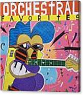 Frank Zappa Orchestral Favorites Canvas Print