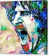 Frank Zappa  Portrait.4 Canvas Print