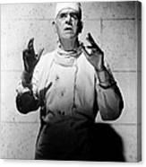 Frankenstein 1970, Boris Karloff, 1958 Canvas Print