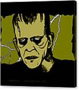 Frankenstein 31' Canvas Print