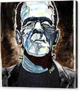 Frankenstein Boris Karloff Canvas Print