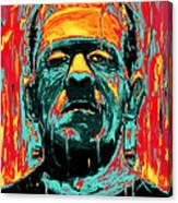 Frankenstein Canvas Print