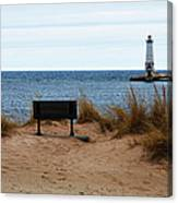 Frankfort Shore Canvas Print
