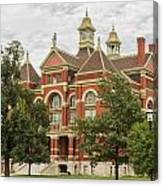 Franklin County Courthouse 3 Canvas Print