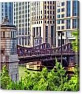 Franklin Street Bridge Canvas Print