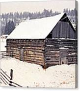 Fraser Valley Barn Canvas Print