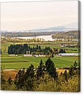 Fraser Valley Toll Bridges Canvas Print