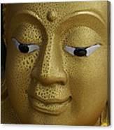 Freckled Gold Buddha Canvas Print