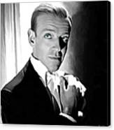 Fred Astaire Portrait Canvas Print