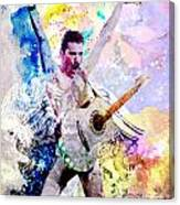Freddie Mercury - Queen Original Painting Print Canvas Print
