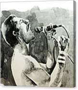 Freddie Mercury 8 Canvas Print