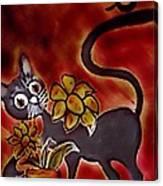 Freddy The Cat Canvas Print