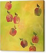 Free Apples Canvas Print