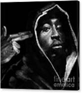 Free Will - 2 Pac Canvas Print