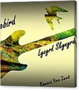 Freebird Lynyrd Skynyrd Ronnie Van Zant Canvas Print