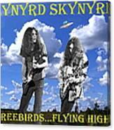Freebirds Flying High Canvas Print