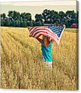 Freedom Field Canvas Print