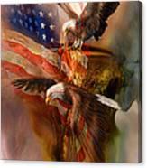Freedom Ridge Canvas Print