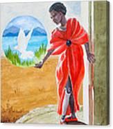 Freedom Rising Canvas Print