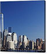 Freedom Tower And Lower Manhattan Canvas Print