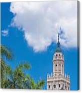 Freedom Tower Miami Dade College Canvas Print