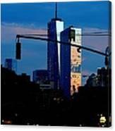 Freedom Tower New York Ny At Dusk Canvas Print