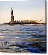 Freedom's Silhouette II Canvas Print